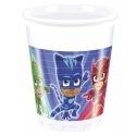 8 Plastic Cups - PJ Masks