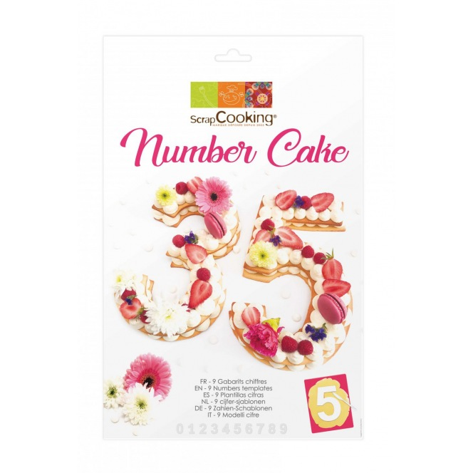 Numbers templates - Scrapcooking