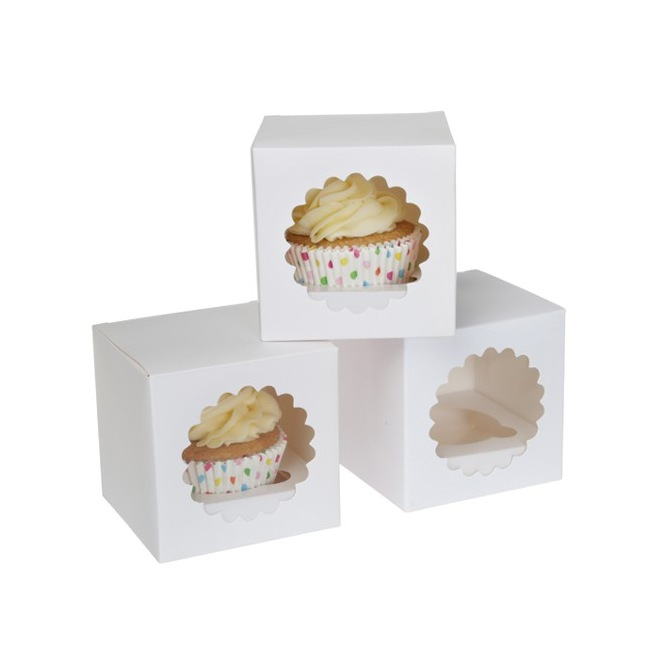 Cupcakebox for 1 (3pcs) - House of Marie