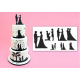 Wedding Silhouette Set - Patchwork Cutters