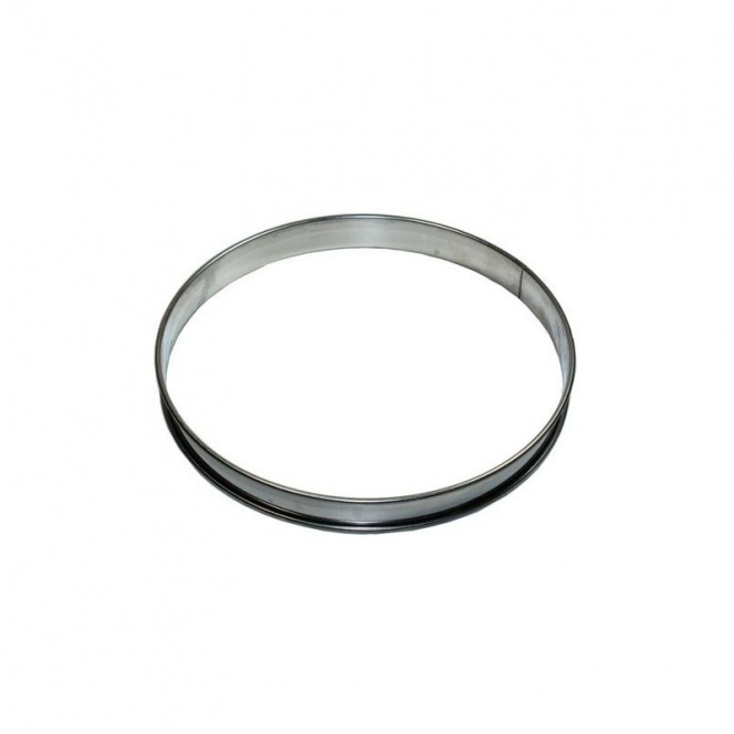 Tart Ring - Stainless Steel -  2cmx12cm