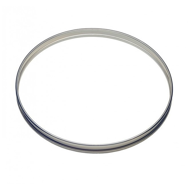 Tart Ring - Stainless Steel -  2cmx16cm