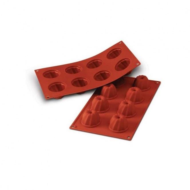 Silicone mold - 8 Gugelhopfs