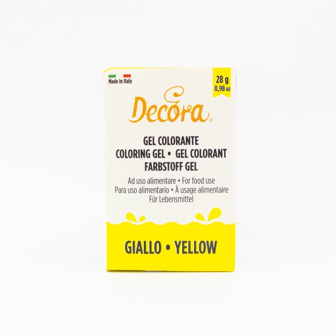 Coloring Gel - Yellow - Decora