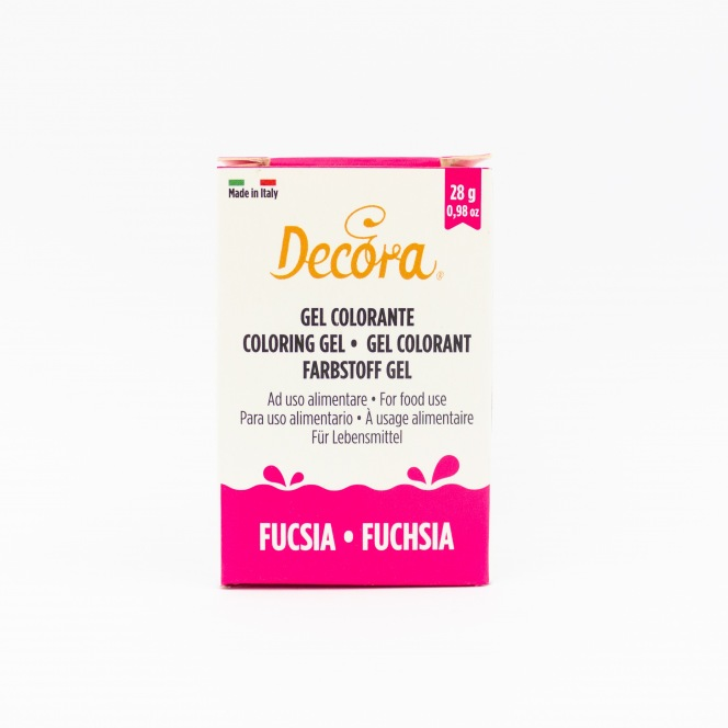 Coloring Gel - Fuschia - Decora
