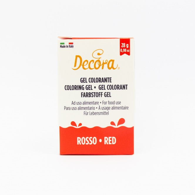 Coloring Gel - Red - Decora