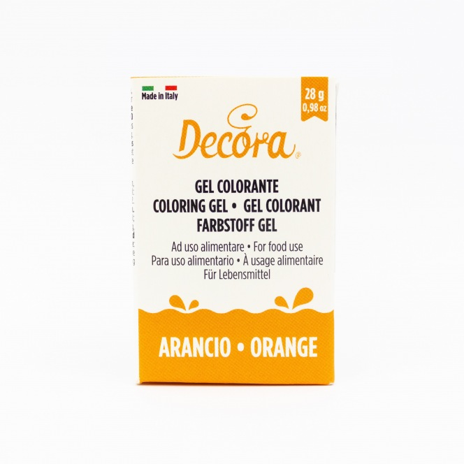 Coloring Gel - Orange - Decora