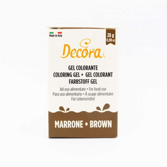 Coloring Gel - Brown - Decora