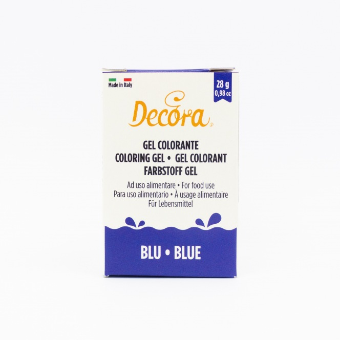 Coloring Gel - Blue - Decora