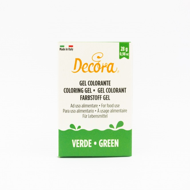 Coloring Gel - Green - Decora