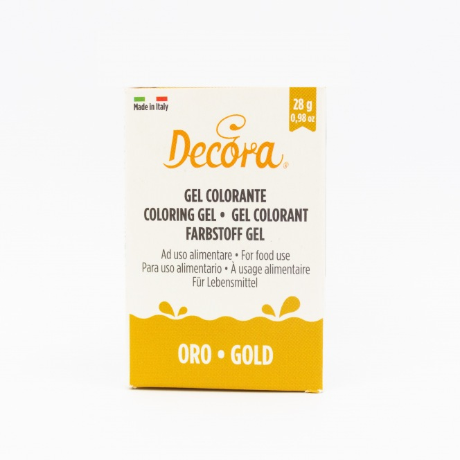 Coloring Gel - Gold - Decora