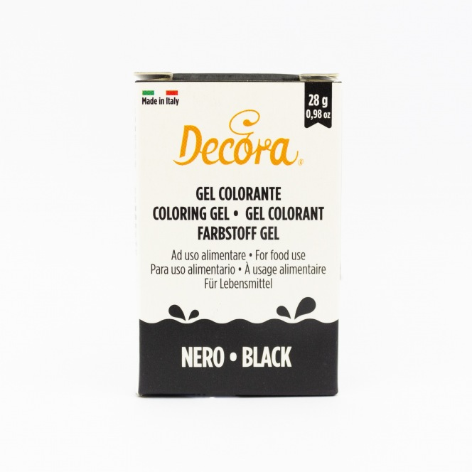 Coloring Gel - Black - Decora