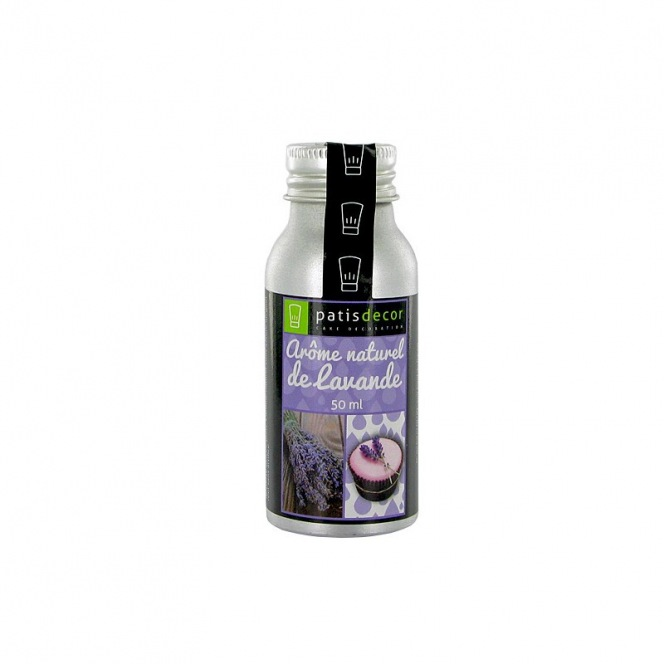 Natural Lavender Flavouring 50 ml - Patisdecor