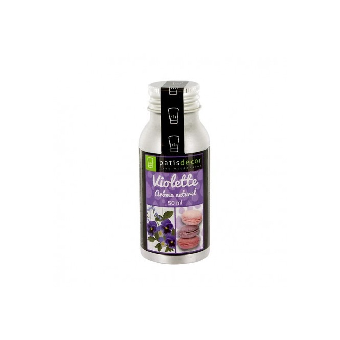 Natural Violet Flavouring 50 ml - Patisdecor