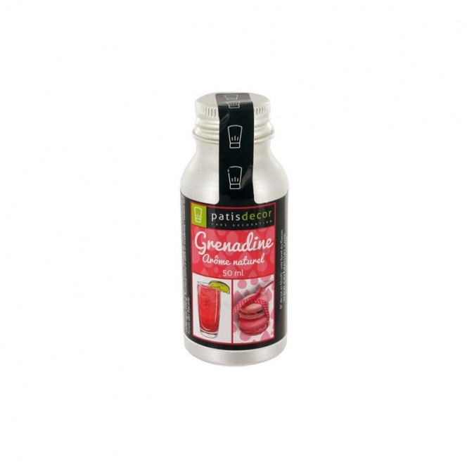 Natural Grenadine Flavouring 50 ml - Patisdecor