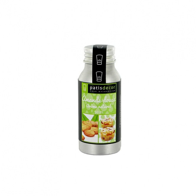 Natural Sweet Almond Flavouring 50 ml - Patisdecor