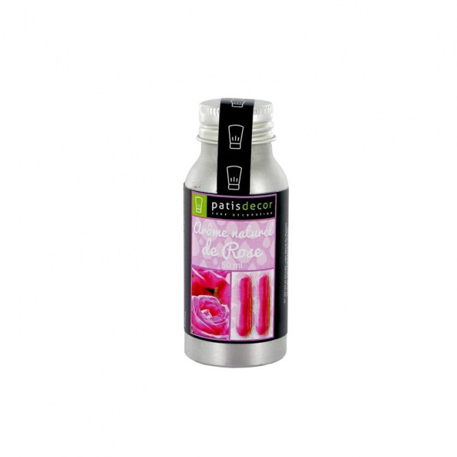 Natural Rose Flavouring 50 ml - Patisdecor