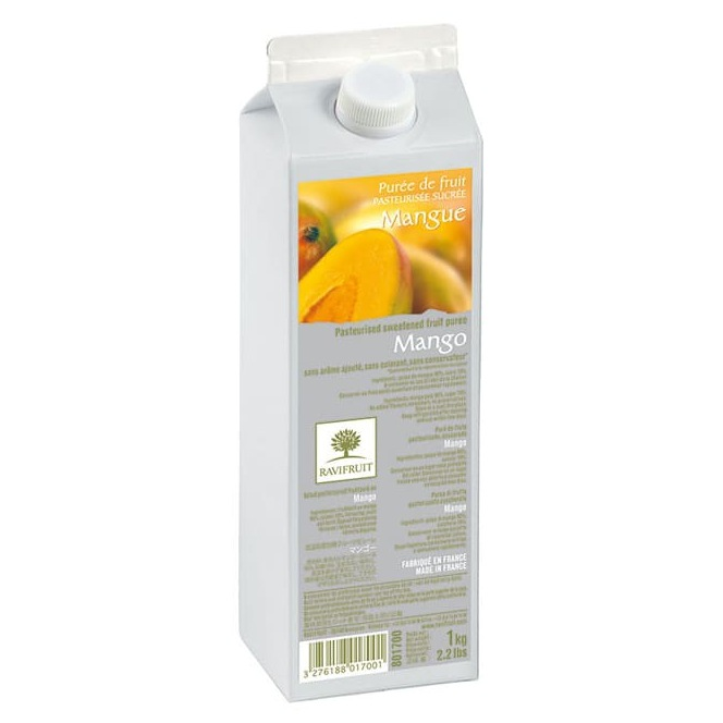 Mango Purée - 1kg - Ravifruit