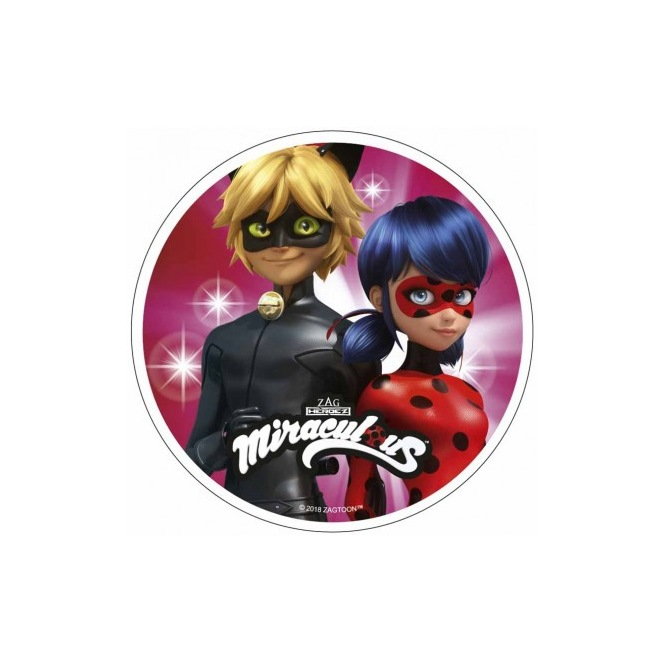 Wafer Disc - Miraculous - Theme 2
