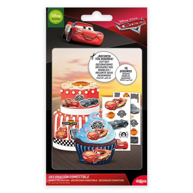 Edible Cars Decoration 18pc