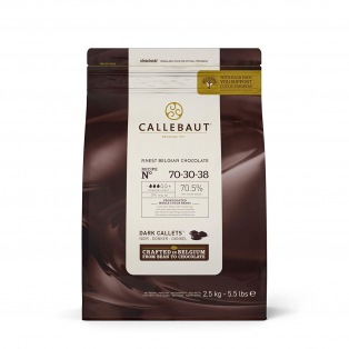Dark Chocolate Callets 2,5kg -  70-30-38 - Callebaut