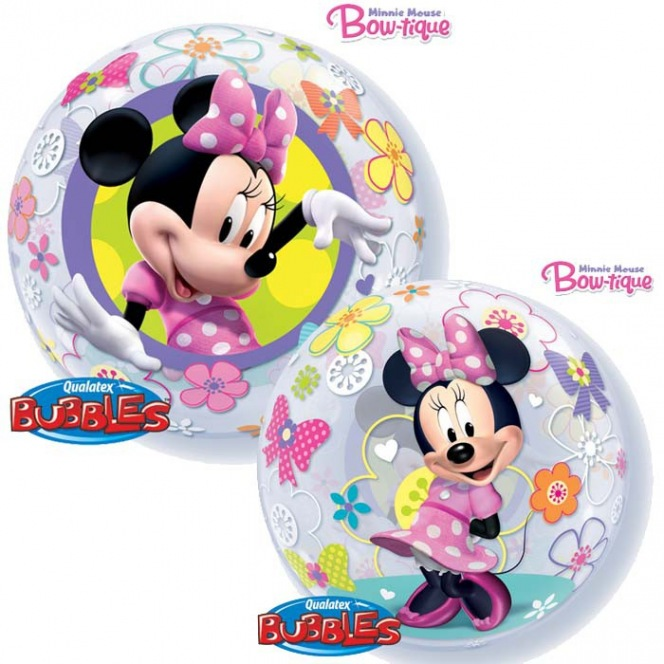 Minnie Mouse Balloon Bubble