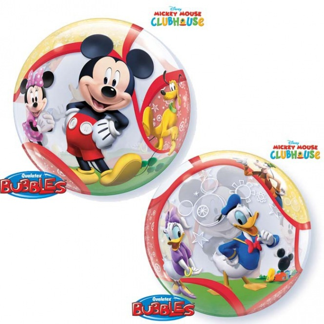 Mickey Mouse Balloon Bubble