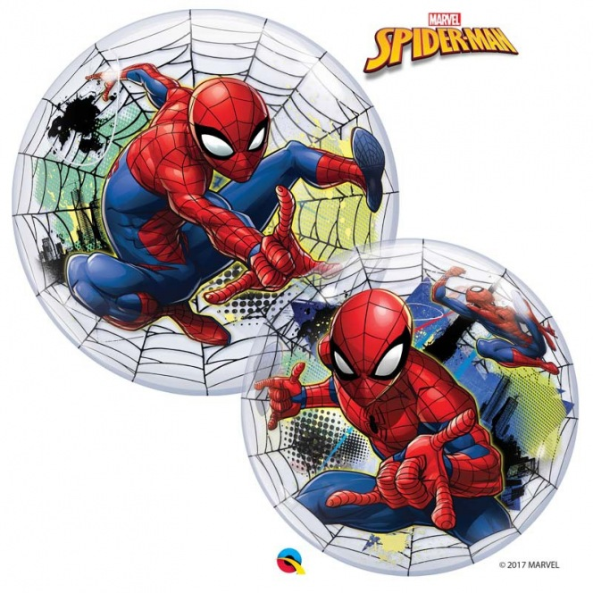 Spiderman Balloon Bubble