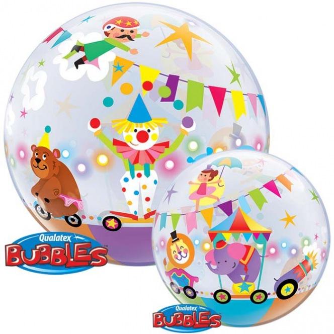 Circus animals  Balloon Bubble