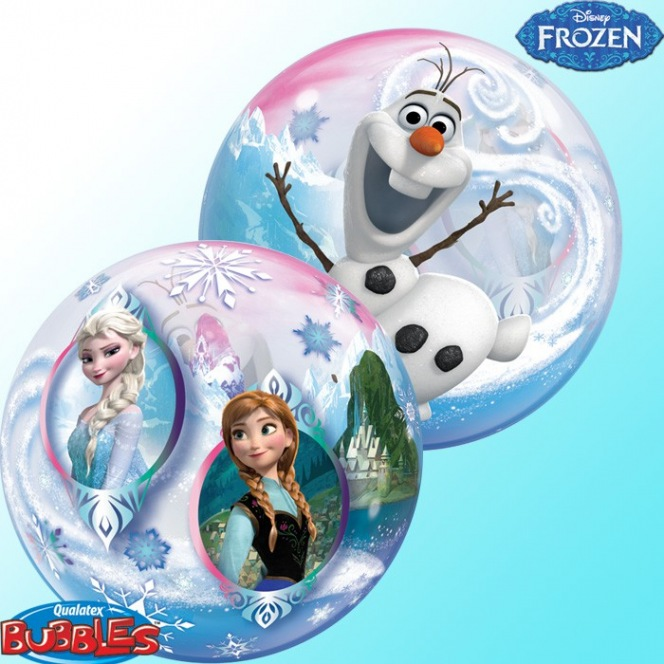 Frozen Balloon Bubble