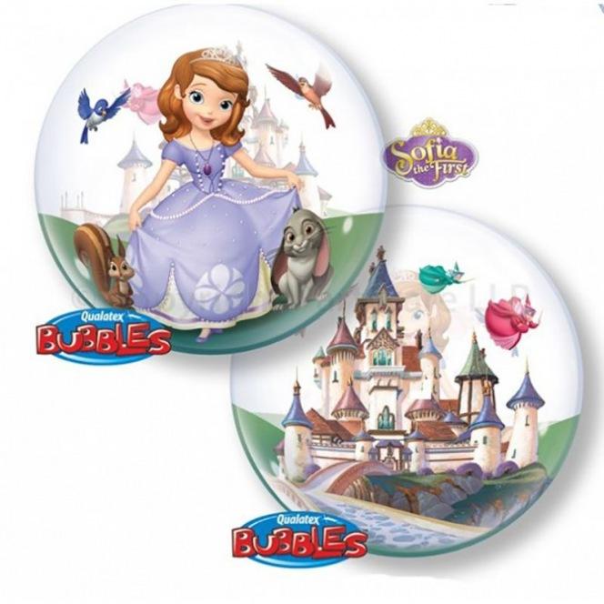 Princess Sofia Balloon Bubble
