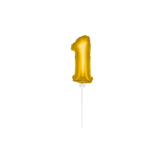 Mini Golden Balloon Number 1