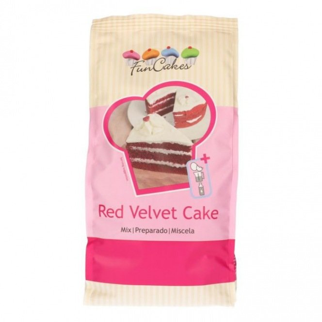 FunCakes Mix for Red Velvet Cake 1kg