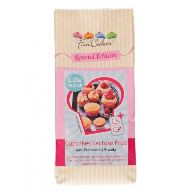 FunCakes Mix for Cupcakes Lactose Free - Low Sugar 500g