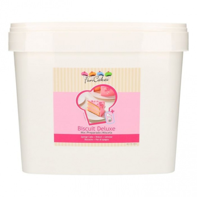 FunCakes Mix for Sponge Cake Deluxe 5kg -Bucket-