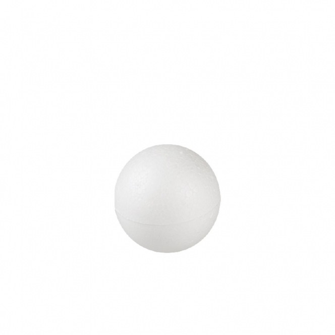 Polystyrene balls 5 cm in diameter