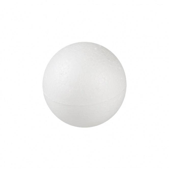 Polystyrene balls - 9 cm in diameter