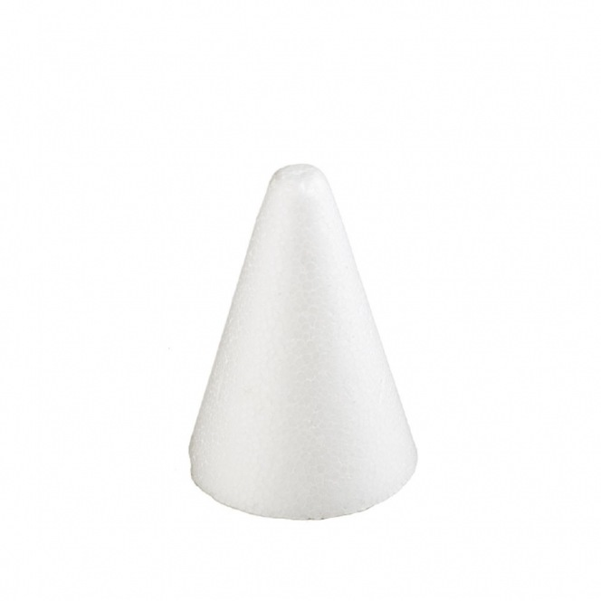 Polystyrene cones - 9 cm in diameter