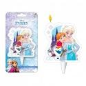 Kaars Elsa, Anna en Olaf