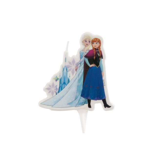 White Snow Queen Candle