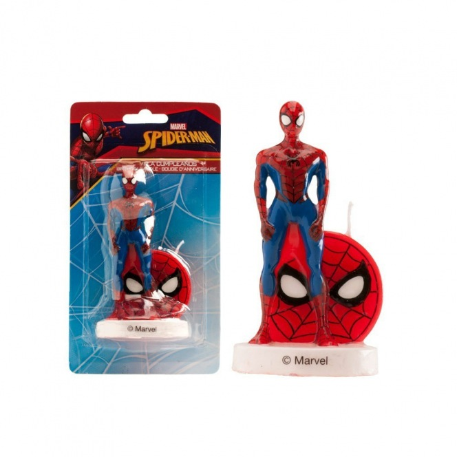 3D Spiderman Candle - Dekora