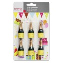 Champagne Candles 6 pcs - Städter