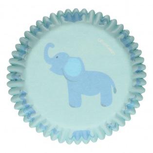 Baking Cups - Baby Boy - 48pcs - Funcakes