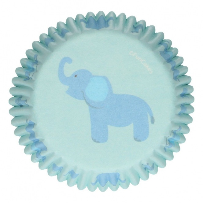 Baking Cups - Baby Boy - 48pcs - Funcakes