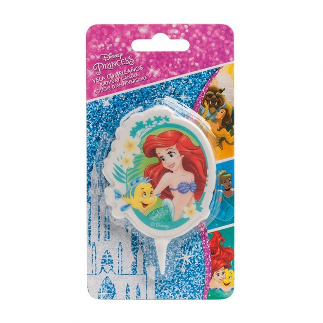 The Little Mermaid Candle 2D - Dekora