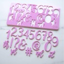 Embossing Set - Numbers & Symbols - Sweet Stamp Elegant by Amy Cakes