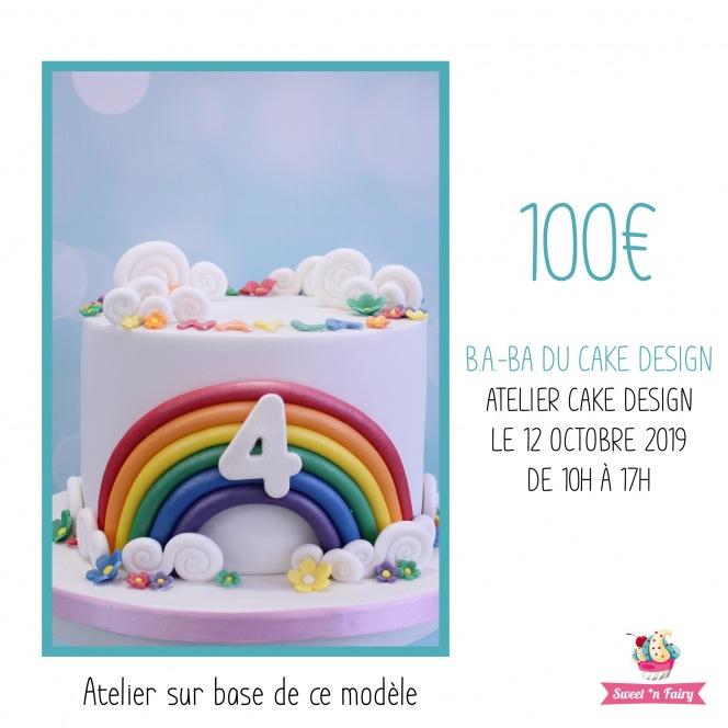 Atelier Cake Design 2 étages sur dummies par Jo