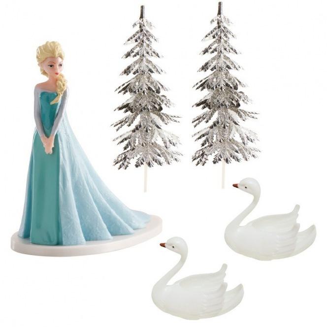 Cake Decoration Set - Frozen - Dekora
