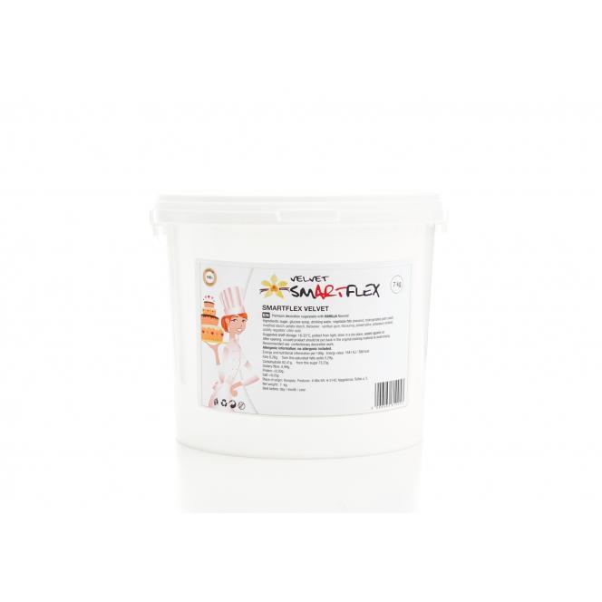 Fondant 7 kg - White (Velvet Vanilla) - Smartflex