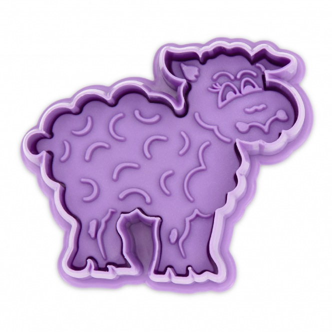 Cutter with Stamp Sheep - Städter